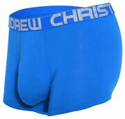 Andrew Christian Bamboo Almost Naked Boxer Mens Underwear Short Male Maxi Brief