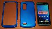 High Gloss Dark Blue Hard Shell Case For Zte Anthem 4g N910 New In Package
