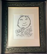 Rare Authentic 1966 Lithograph Art Print Marc Chagall - Untitledcertified