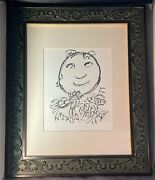 Rare Authentic 1966 Lithograph Art Print, Marc Chagall - Untitledcertified