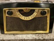 1954 Mid Century Admiral Antique Table Top Tube Radio Record Player, Model 5d32d