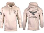 Howitzer Style Menand039s Hoodie Pullover Defender Spirit Military Grunt S-3xl