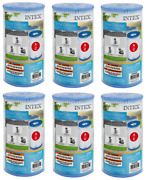Intex Replacement Pool Filter Cartridge Type A Or C Lot Of 6