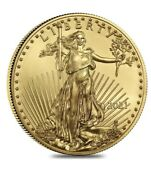 In Hand Last Design American Eagle 2021 One Ounce Gold Proof Coin 21eb