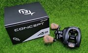 13 Fishing One 3 Concept A Gen 2 8.31 Left Hand Casting Reel - A2-8.3-lh