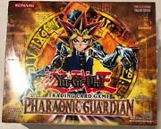 Yugioh Pharaonic Guardian Booster Box 1st Edition 36-count Tcg Ccg Cards
