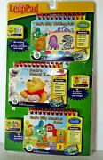 My First Leap Pad 3- In- 1 Interactive Learning Books And Cartridges New/sealed