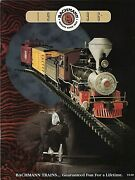 Bachmann Trains 1996 Catalognew Conditionfree U.s. Shipping