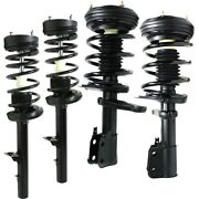 Set Of 4 Shock Absorber And Strut Assemblies Front And Rear Left-and-right For 300