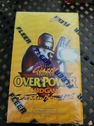 Classic Marvel Overpower Expansion Sealed Box