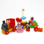 Lego Duplo Birthday Parade Mickey Mouse Clubhouse Set Train 10597 Minnie Candle