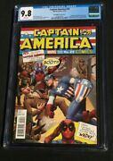 Captain America 25 Christopher Variant Cover Cgc 9.8 2138741002