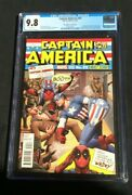 Captain America 25 Christopher Variant Cover Cgc 9.8 2138741001