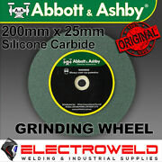 Abbott And Ashby 200mm 8 Grinding Wheel / Disc Bench Grinder Silicone Carbide 80
