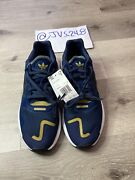 Adidas Day Jogger Notre Dame Collegiate Navy Blue/black/gold Fw4832 Boost Sz10.5