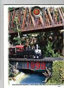 Bachmann Trains 1998 Catalognew Conditionfree U.s. Shipping