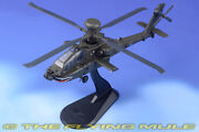 172 Us Army Boeing Ah-64d Longbow Apache 8th Battalion Helicopter Diecast Model