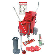 Unger Rrpro Pro Restroom Daily Cleaning Kit