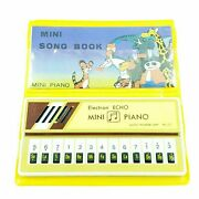 Mini Piano Electron Echo Mini Song Book Vintage In 80 And039packaging