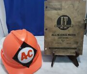 Allis-chalmers D-14 No.ac-6 Tractor Repair Shop Manual Hard Hat Tracto Ride Used