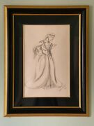 Disney Beauty And The Beast On Broadway Belle Art - Signed By Ann Hould-ward