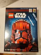 New Sealed Lego 77901 Star Wars Sith Trooper Bust Sdcc 2019 Exclusive