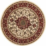 Well Woven Barclay Medallion Kashan Light Blue Traditional Area Rug 2and0397and039and039 X 9and0396and039