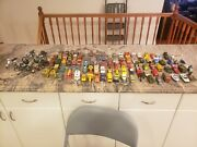 Vintage Lot98 Diecast And Toy Vehiclescars, Trucks And And 6 Bike's
