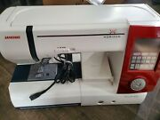Janome Memory Craft Mc 7700 Qcp Sewing And Quilting Machine + Mc Pedal +accesso