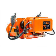 Prowinch 7.5 Ton 2 Speed Power Trolley 230/460v 60hz With Limit Switches Pend...