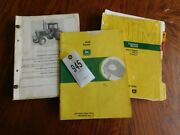 John Deere 4630 Tractor Operator Parts And Technical Manuals Tag 945
