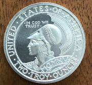 999 Silver 2 Oz Pan Pac Panama-pacific Exposition San Francisco Round