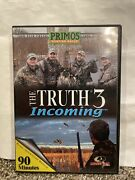Duck And Goose Hunting Dvd, Primos, The Truth 3 Incoming .