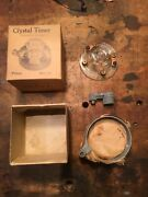 Model T Ford Crystal Glass Distributor Cap Ignition Timer Nos W - Box