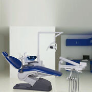 Dental Unit Chair Computer Controlled W/ Doctor Stool Hard Leather A1-1 Ce Fda