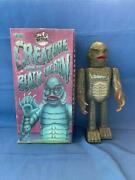 Old Vintage Tin Wind Up Creature From Black Lagoon Figure Toy Box Japan 1991