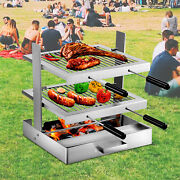 Vevor Tuscan Fireplace Grill Santa Maria Grill Stainless Tuscan Grill Drip Pan