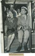 President Nixon With Wife Pat On Cable Car Vintage Photo California