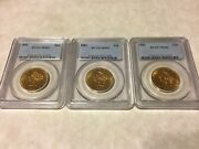 1 - 1886 Ms62 Pcgs 10 Saint Gaudens Double Eagle Gold Coin Great Appeal