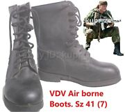 Soviet Russian Army Short Boots Vdv Airborne Afghanistan Size 41 C Medium 262
