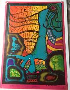 1967 Jefferson Airplane Benefit Concert For Prop A At The Fillmore Poster