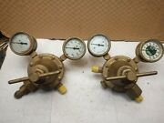 Set Cpc Regulator Type 34 And Type 14 Welding Purox Cutting Appear Reconditioned