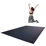 Revtime Extra Large Exercise Mat 8 X 6 Feet 96 X 72 X 1/4+ 7 Mm Thick And High