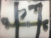 Sparco Snap-in Pull Down Style 4 Point Safety Seat Belt Harness