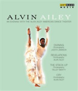 Alvin Ailey An Evening With The Alvin Ailey American... Uk Import Blu-ray New