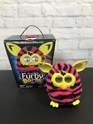 Furby Boom Pink And Black Stripes 2013 With Box