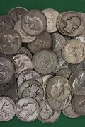 Make Offer 2 Troy Pounds Washington Quarters Junk 90 Silver Coins U.s. Bullion