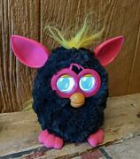 Furby 2012 Hasbro 'a Mind Of Its Own' Black / Hot Pink - Tested/working