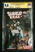 Super Real Vs. The Comic Books Industry 1 Signed J. Martin Cgc 9.8 2575438001