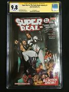 Super Real Vs. The Comic Books Industry 1 Signed J. Martin Cgc 9.8 2575438007